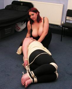 Lesbian bbw bondage